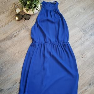 SMART SET | Blue Halter Extra Small Dress